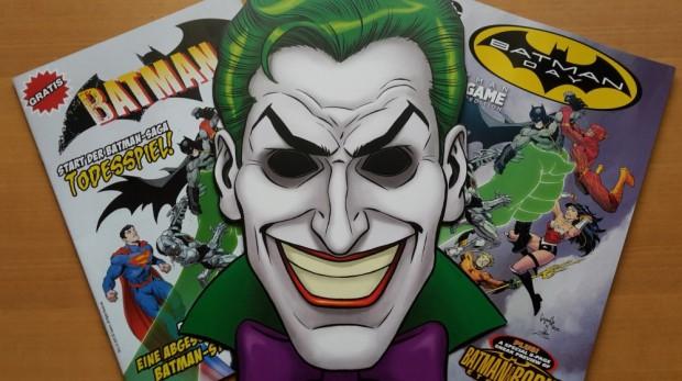 Ausbeute des Batman-Tags 2015