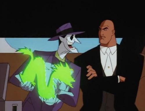 Joker und Lex: Ein verlockendes Angebot.