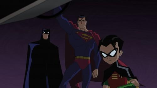 Das dynamische Trio: Batman, Superman und Robin. (Warner Bros.)