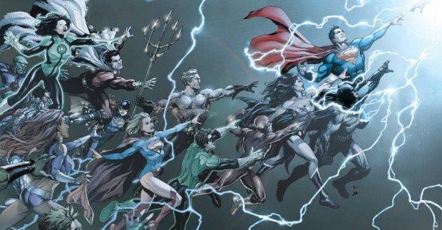 Rebirth One Shot Cover (DC Comics)