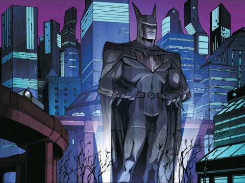 Batman als Monument der Abschreckung.