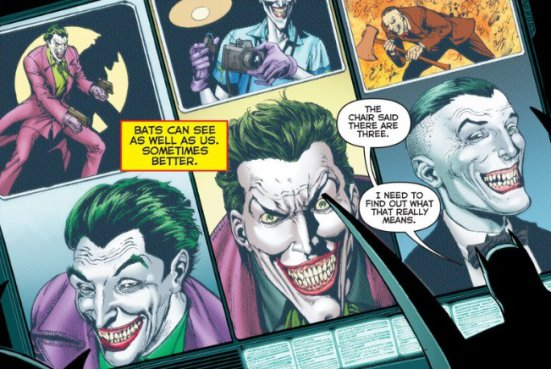 Rebirth 1: Drei Joker. (DC Comics)