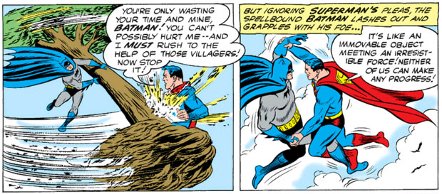 Batman gegen Superman: Der zweite Kampf. (DC Comics)