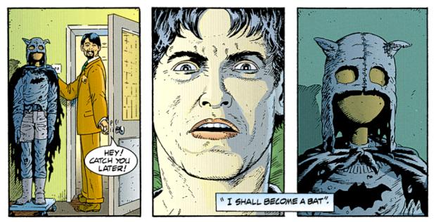 Batmans wahre Maske