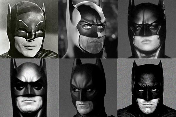 Die sechs Dunklen Ritter des Kinos. (Warner Bros.)