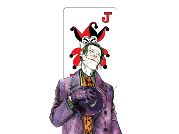 Joker in Streets of Gotham (Dustin Nguyen)
