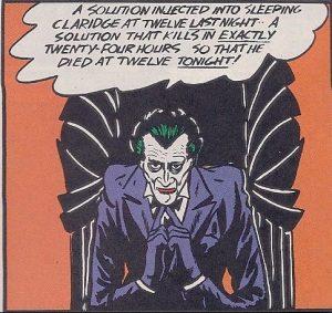 Jokers erster Auftritt 1940