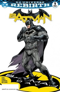Batman Rebirth #1 Howard Porter