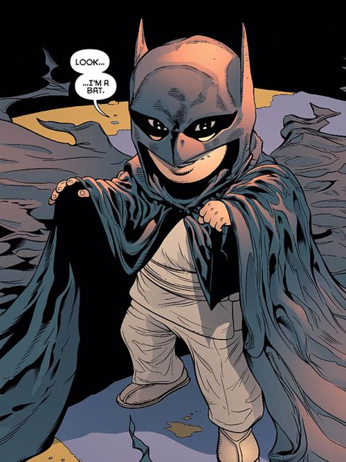 Damian Wayne in Batman & Robin #0 (DC Comics)