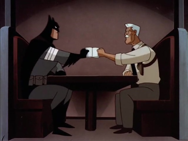 Neujahrstradition: Batman und Gordon in Holiday Knights