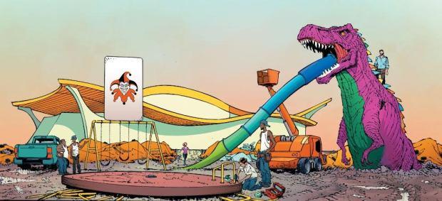 Trophäen als Spielgeräte: Batman #45