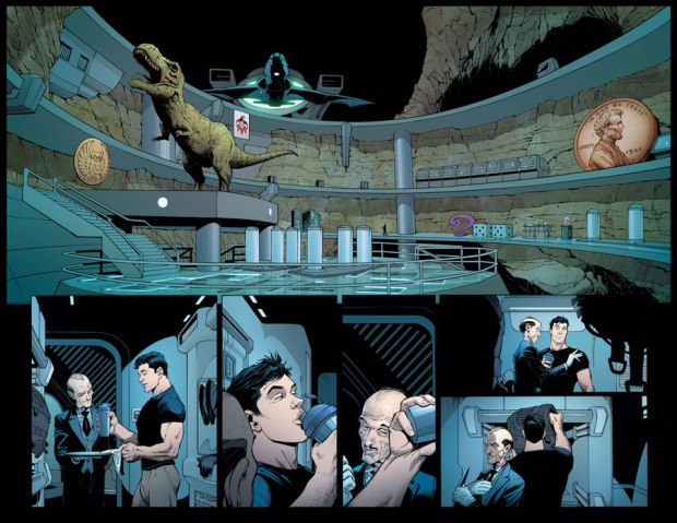 Die Bathöhle in Batman #51 (2016)