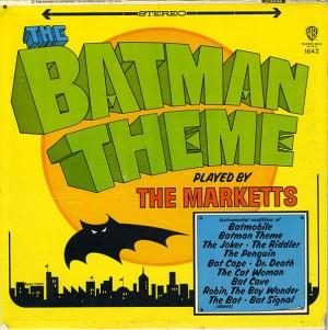 The Marketts: The Batman Theme (Plattencover)