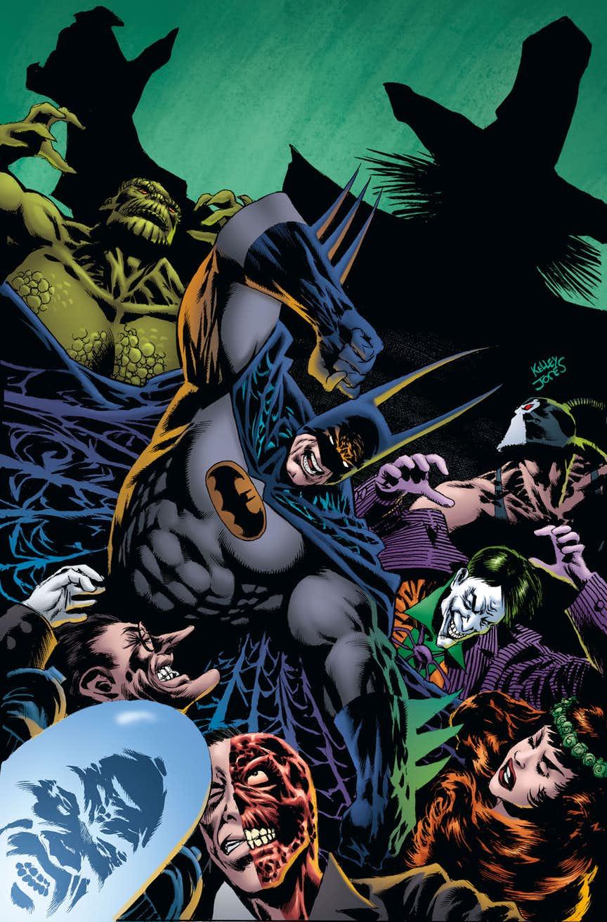Kelley Jones Das Batman Projekt