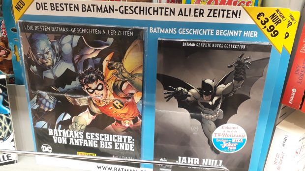 Neu im Zeitschriftenregal: Batman Graphic Novel Collection 1
