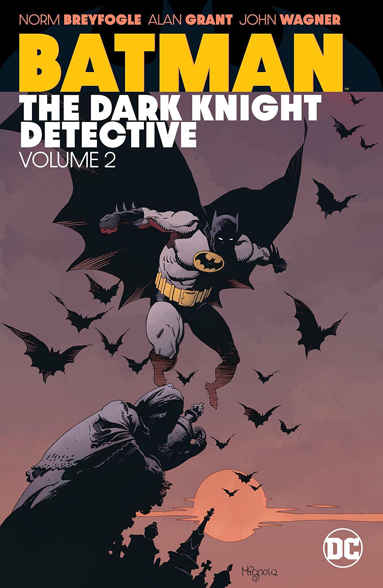 Alan Grant /& Norm Breyfogle 1989 Mit Poster Detective Comics No.607