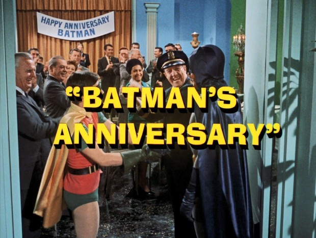 Überaschungsfeier für Batman