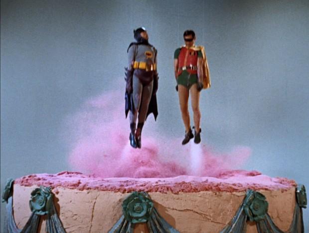 Batman und Robin's Anniversary Cake