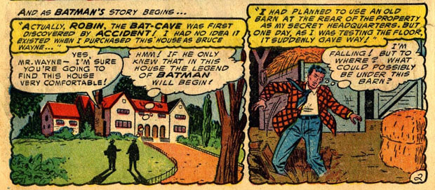 Bruce Wayne kauft ein Haus