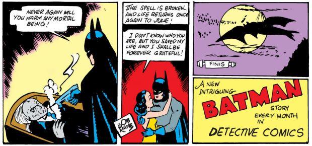 Batman erschießt die Vampire