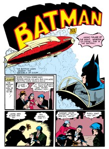 Batman's First Origin (Detective Comics #33)