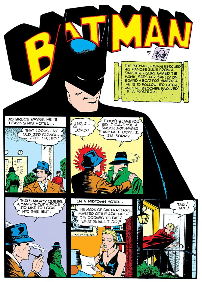 detective comics 34, page 1