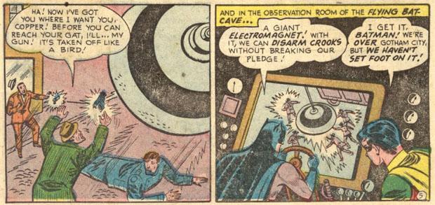 Entwaffnend: Batmans Riesenmagnet