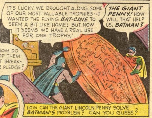 Batmans Riesenpenny