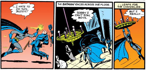 Batman gegen die Polizei