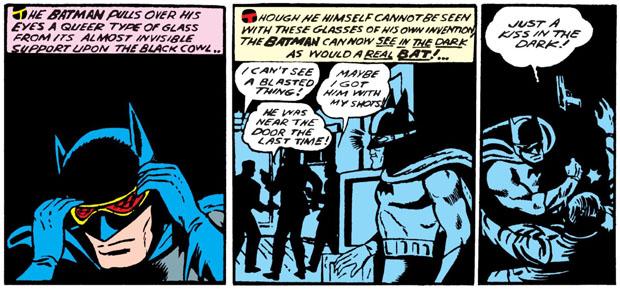 Batmans Nachtsichtbrille