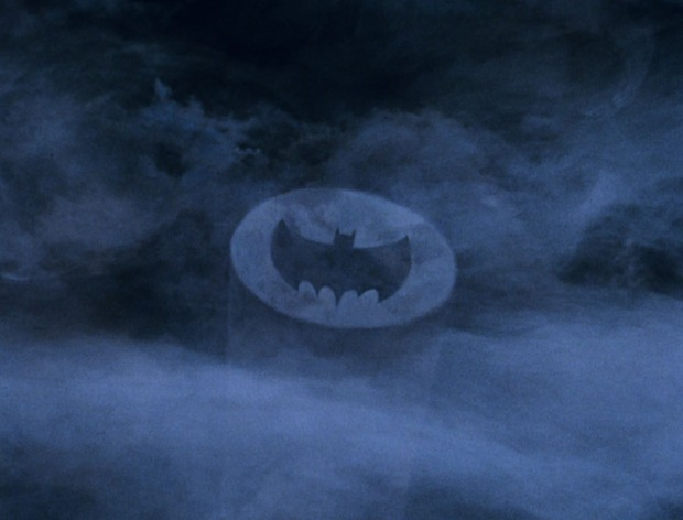 Notruf bei Nacht: das Batsignal