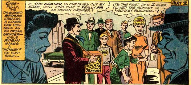 Batman und Robin undercover.