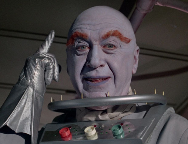 Otto Preminger als Mister Freeze