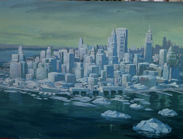 Frozen Gotham
