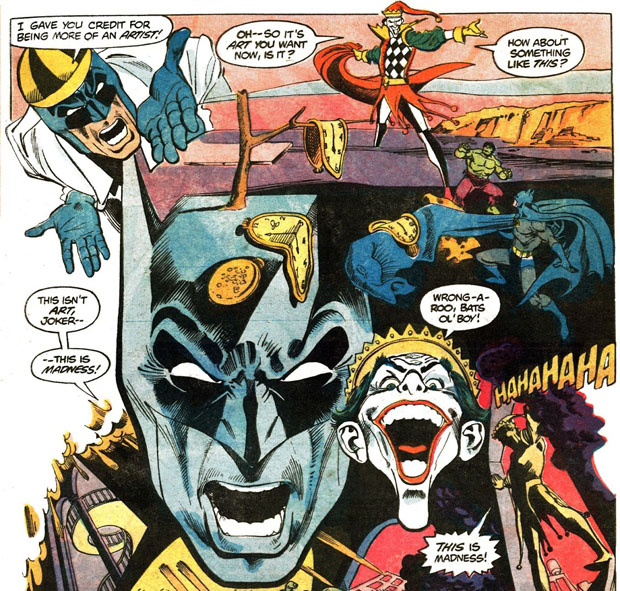 Joker macht Kunstträume wahr
