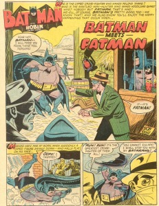 Batman meets Fatman