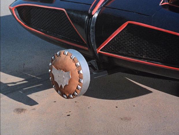 Batram am Batmobile
