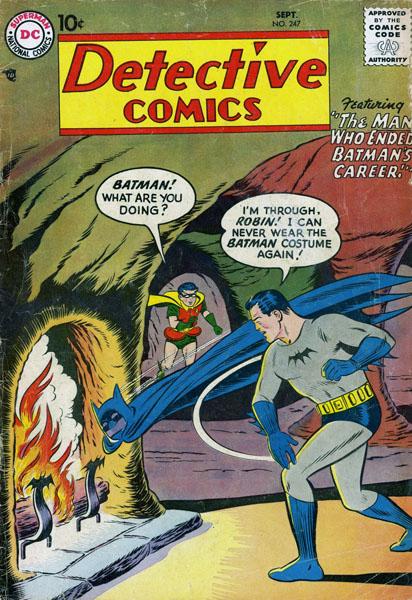 detective comics 247 cover