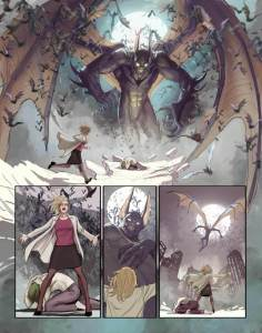 "Seite aus ""Harleen"" (DC Comics)"