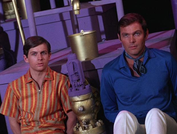Gefangene im Parfum-Labor: Dick und Bruce.