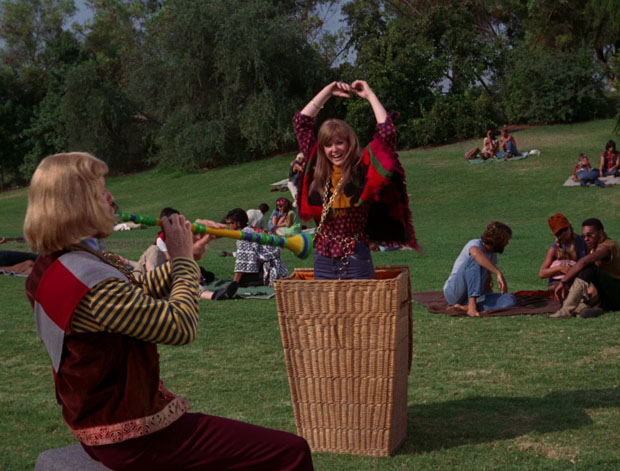 Hippies im Park