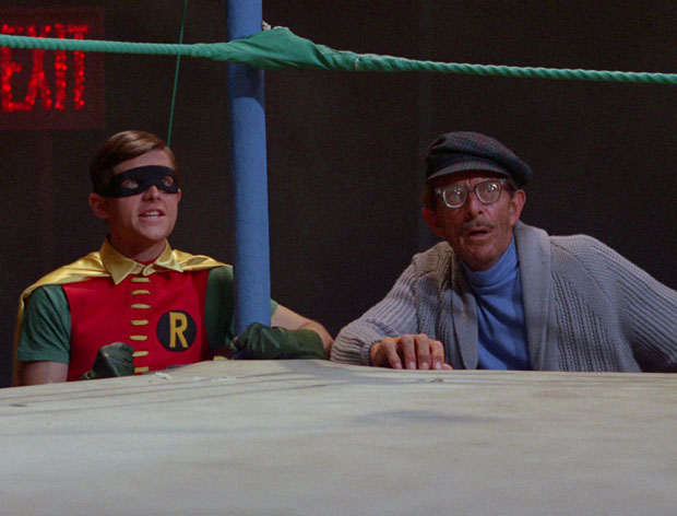 Robin & Alfred (undercover)
