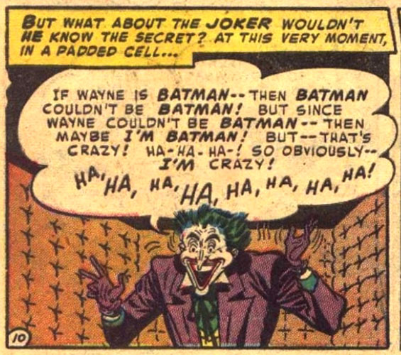 Joker in Batman #74 (1952)