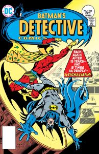 Batman vs. Signalman in Detective Comics #466 (1976)