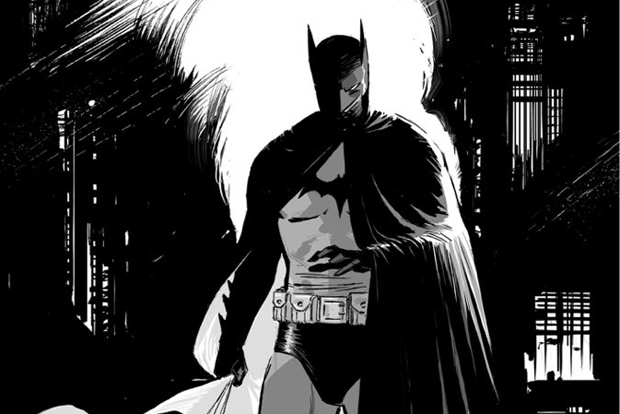 Black & White Batman (Tony S. Daniel)