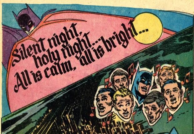 "Batman singt ""Stille Nacht"""