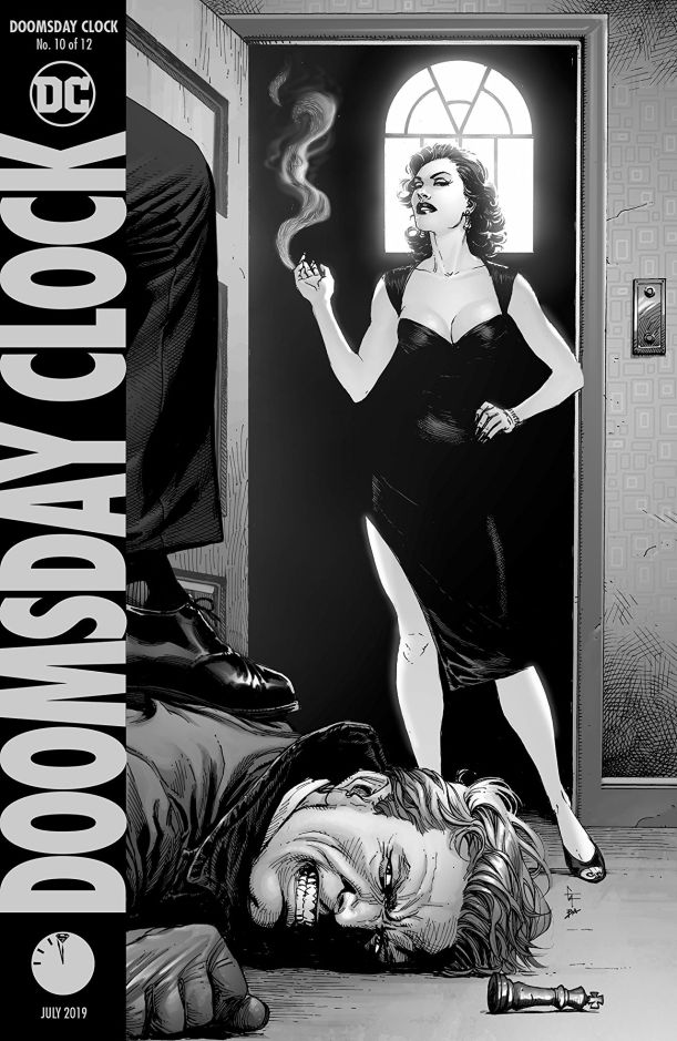 doomsday clock #10 cover