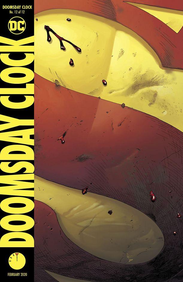 doomsday clock #12 cover
