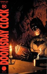 Batman liest Rorschachs Tagebuch.