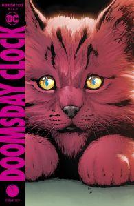 doomsday clock #8 cover